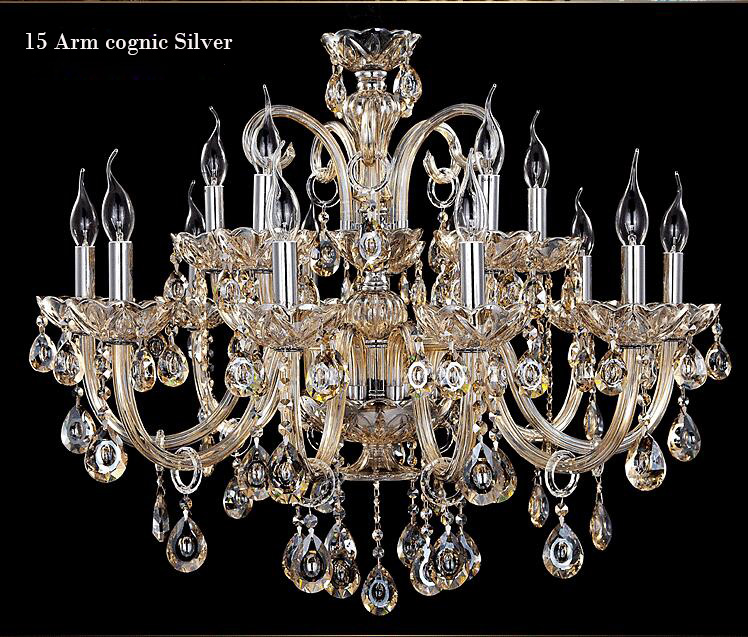 New Free Shipping Big Lustres Chandelier 100% K9 Crystal Luxury Large - Ներքին լուսավորություն - Լուսանկար 2