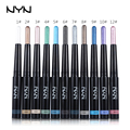 1pc 11 Colors Brand NYN Eyeshadow Pencil Waterproof Long-lasting Shimmer Eye Liner Pencil Automatic Eye Shadow Stick Make Up