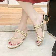 Women High Heels 2019 Summer Elegant Thick Cut Out Slippers High-heeled Sandals for Ladies Women Open Toe Square Heel Shoes цена в Москве и Питере