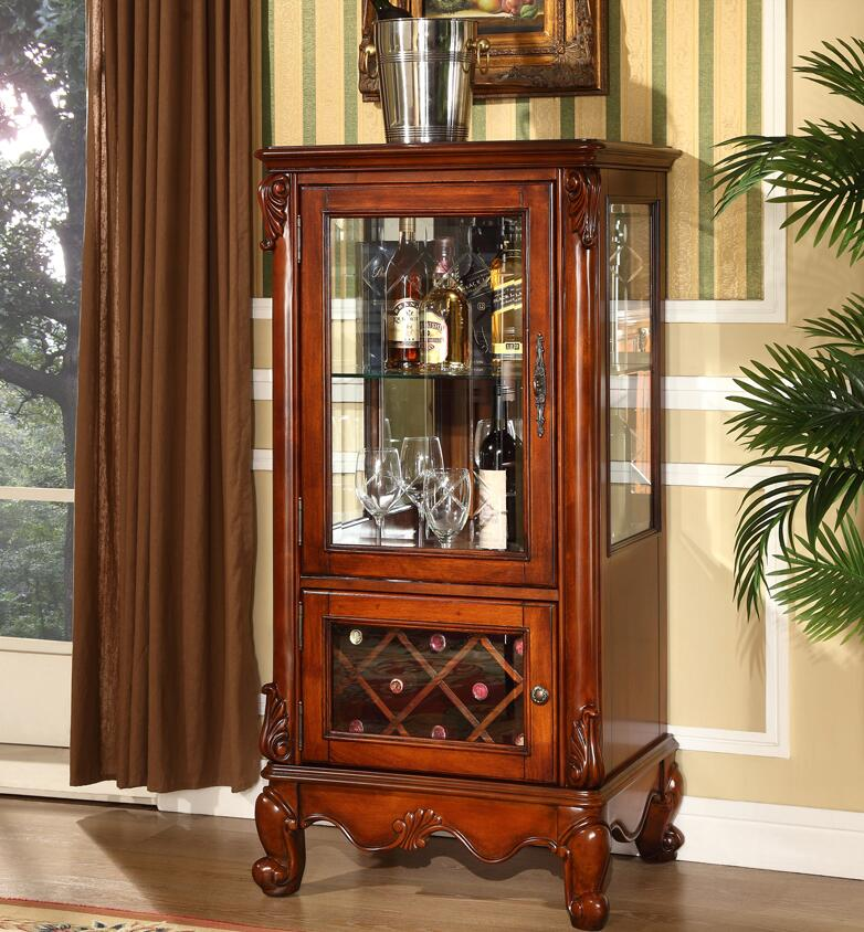 2018 Top Fashion New Wood Antique Furniture Console Archivadores Wine Cabinet new dji top