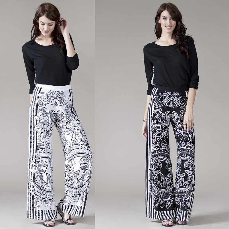 cotton wide leg pants - Pi Pants