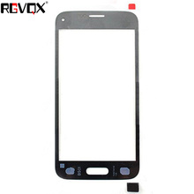 цена на New Front Panel For Samsung Galaxy S5 mini G800 G800F Touch Screen Sensor Digitizer Outer Glass Repair White Black