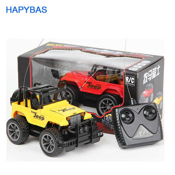 цена на Super Toys 1:24 Jeep large remote control cars 4CH remote control cars toys rc car electric for kids gift