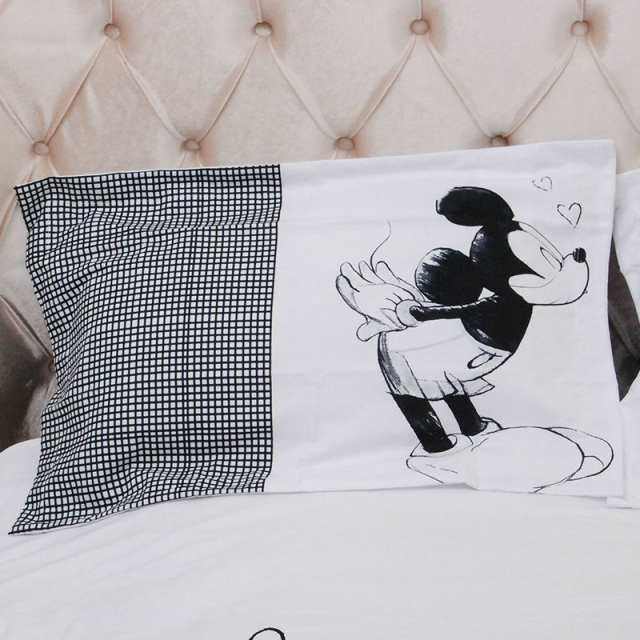 Lenzuola Matrimoniali Mickey Mouse.Online Shop Disney Mickey Minnie Mouse Set Biancheria Da Letto