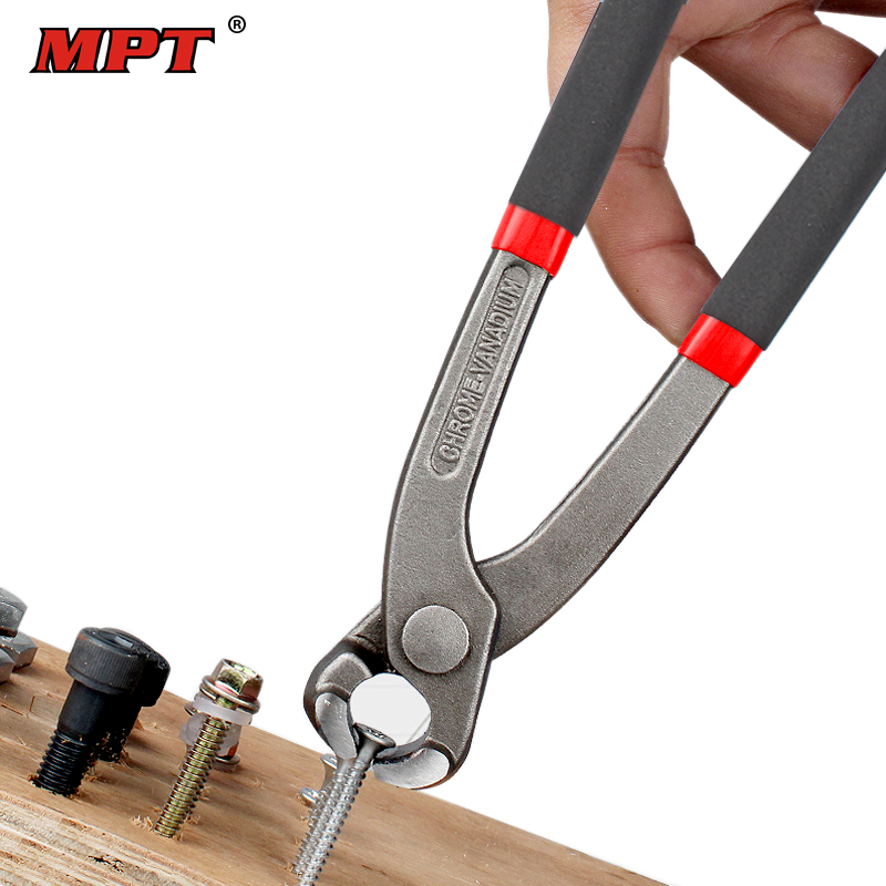 MPT 89 Pincer Tongs Wire Stripper Nutcracker Pliers Crimping Tool Pull Nail Pliers Alicates Ferramentas De Mano Free Shipping