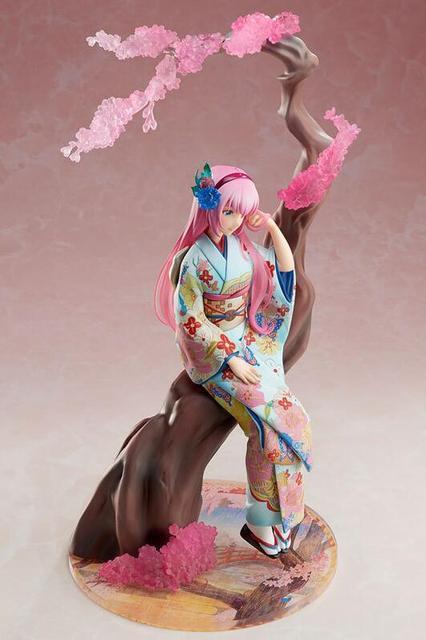 25cm Hatsune Miku Megurine Luka doll Anime Figure PVC Collection Model Toy Action figure 3