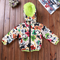 Girls boys coats and jackets 2016 girls winter hooded coat thick cotton warmer kids winter coat Age  2 3 4 5 6T