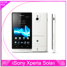Sony Xperia Sola MT27i Original Unlocked Cell Phone Sony Ericsson MT27i 8GB Dual-core 3G GSM WIFI GPS 5MP free shipping