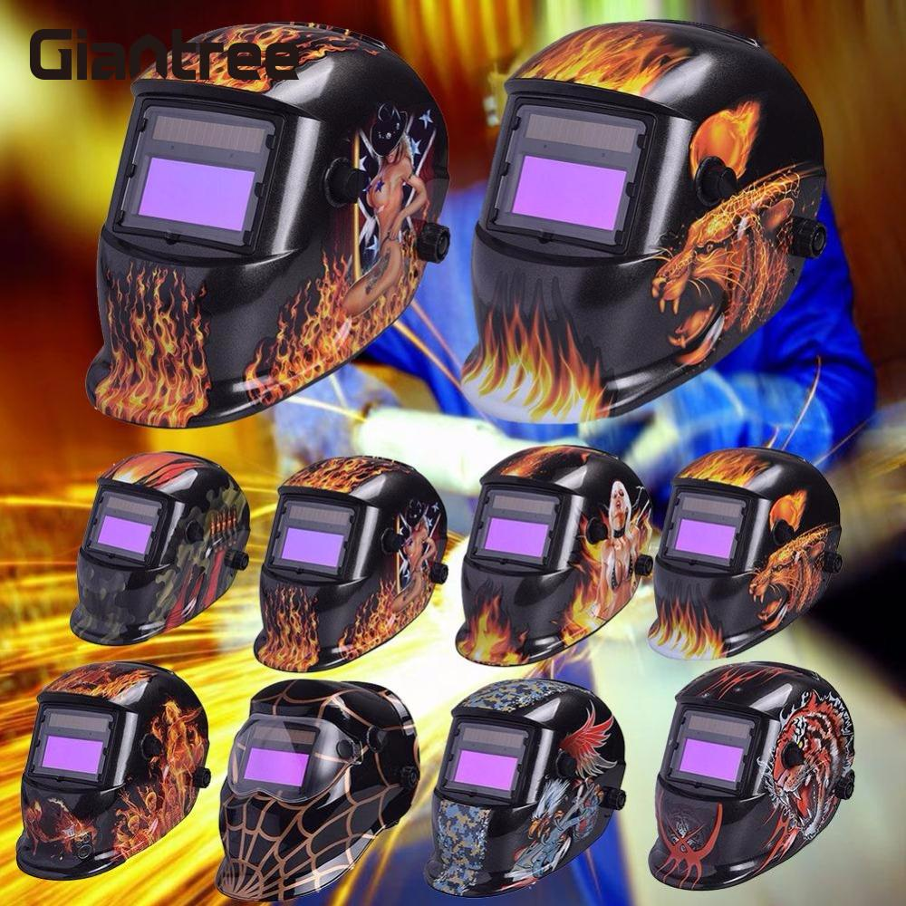 giantree Auto Darkening Welding Helmet Welder Masks UV Protection IR Protection Electric Welding Mask Helmet welder Cap goggle nadoba karolina 721024