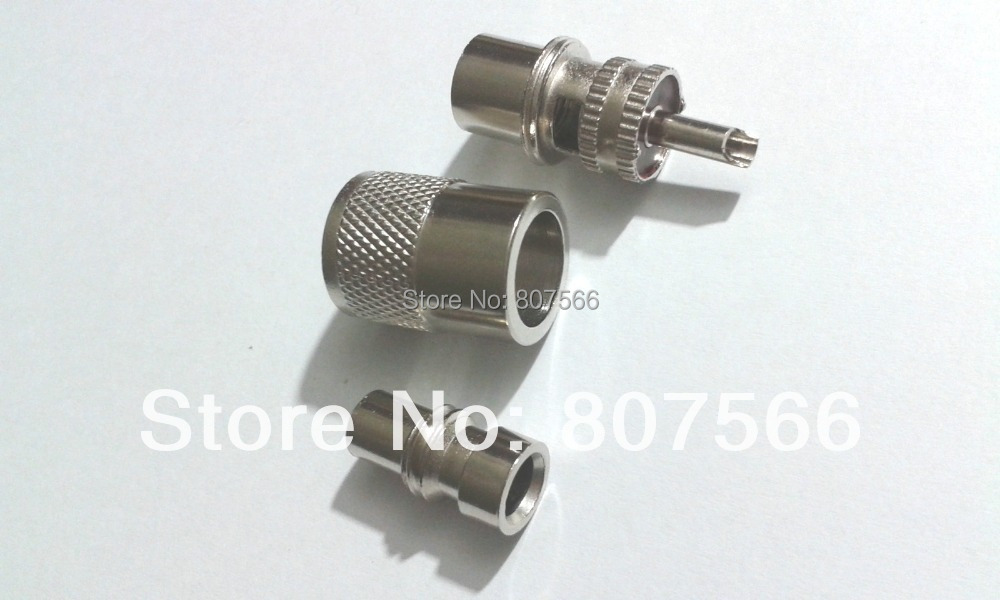 bilder für 50 stücke UHF PL-259 Male Solder RF Stecker Für RG8 Koaxialkabel adapter