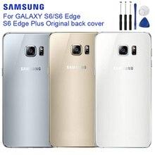 Original Housing Back Cover Cases For Samsung Galaxy S6 Edge Plus Edge+ S6 Edge G925F G925FQ G9250 S6 G920f G920 G920A G9200 чехол для для мобильных телефонов oem bling samsung s6 g9200 s6 case for samsung galaxy s6 g9200