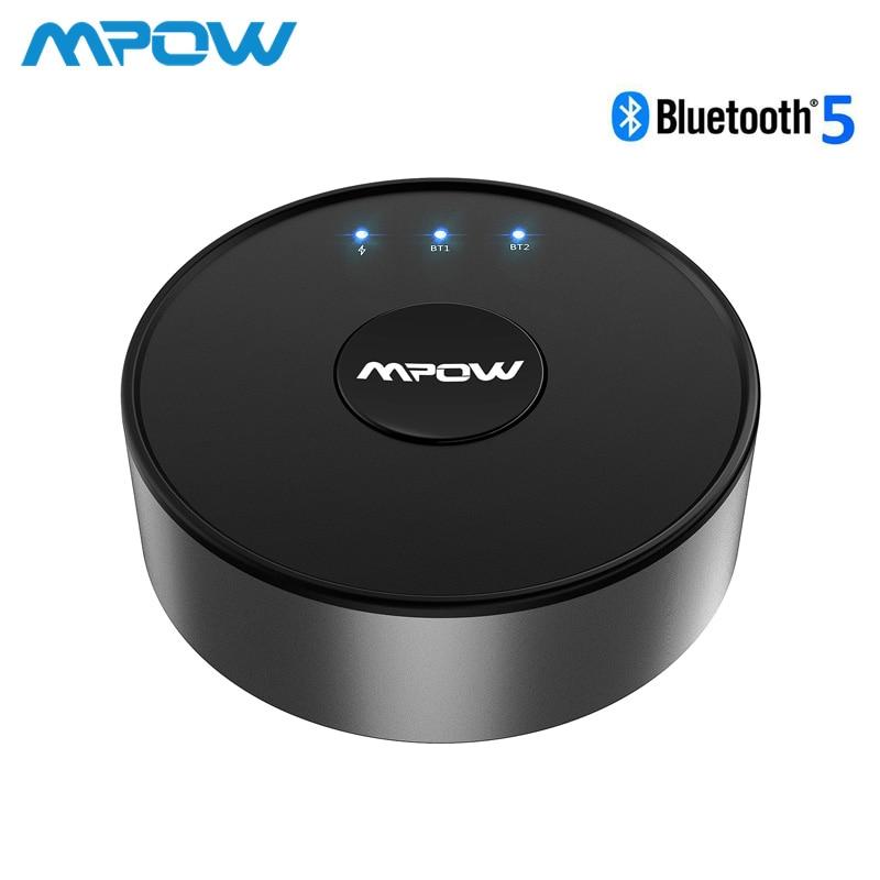In Konstruktiv Mpow Bh261 Aptx Hd Aptx-ll Bluetooth 5,0 Wireless Transmitter Audio Aux Adapter 15 M/50ft Betrieb Palette Für Tv Nie Power Off Duftendes Aroma