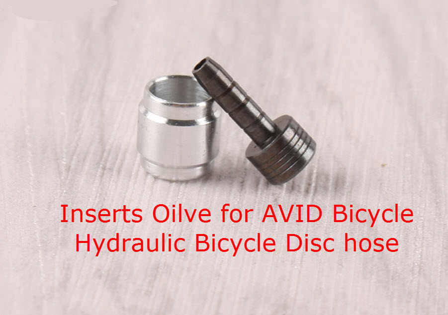 Bicycle Brake Hydraulic Fitting Hose  Driver Olive Insert Connector