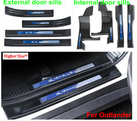 For Mitsubishi outlander 2019 304#stainless steel car door sills scuff protection plate,decoration plate,Threshold bar