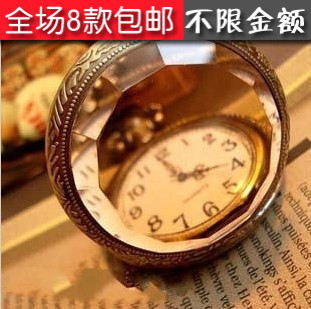 E4273 accessories vintage royal tawers mirror pocket watch antique necklace
