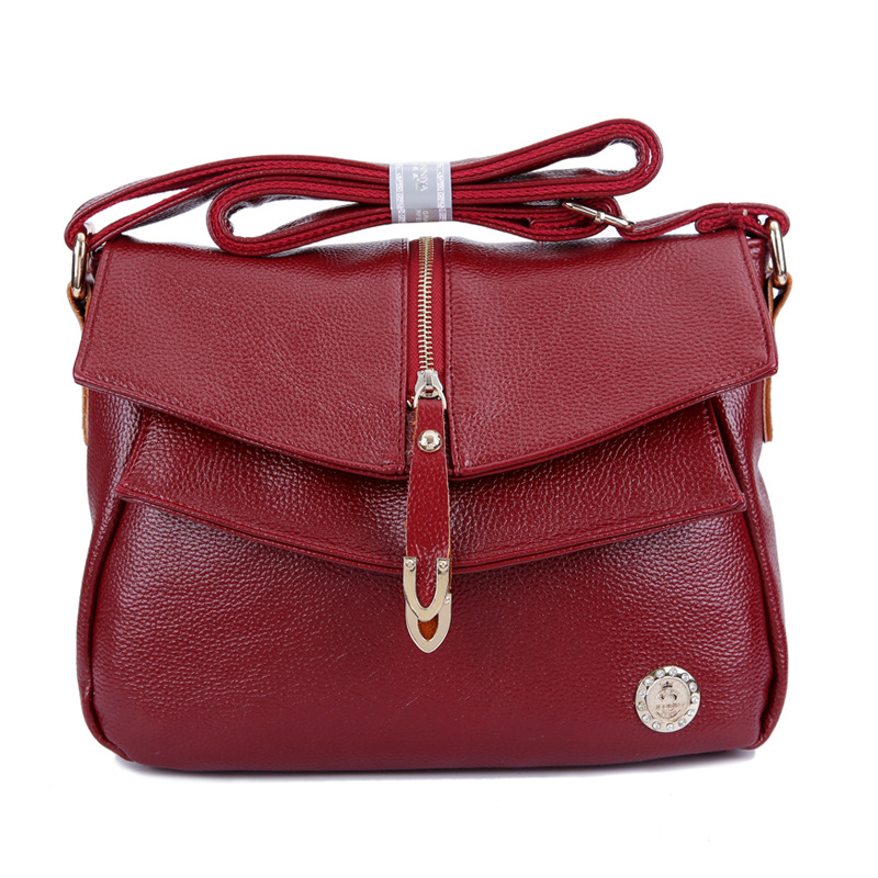 High Quality Genuine Leather Women Handbags Fashion Cowhide Womens Messenger Bag Women s Shoulder Bags Tassel
