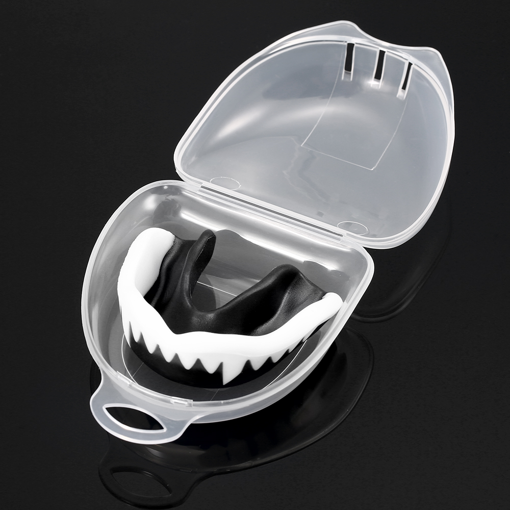 3 Pack Sports Mouth Guard Teeth Protector for Adults Mouthguard Tooth Braces EVA