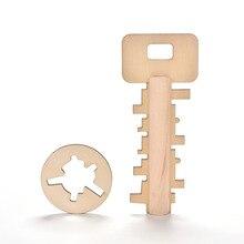 Разблокировки разведки пазлы дошкольного головоломки развивающие деревянные новинка ключ игрушки детские