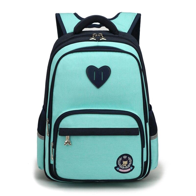 Waterproof Children School Bags Primary School Backpacks Boys Girls Kids Satchel Schoolbag Orthopedic Backpack Mochila Infantil