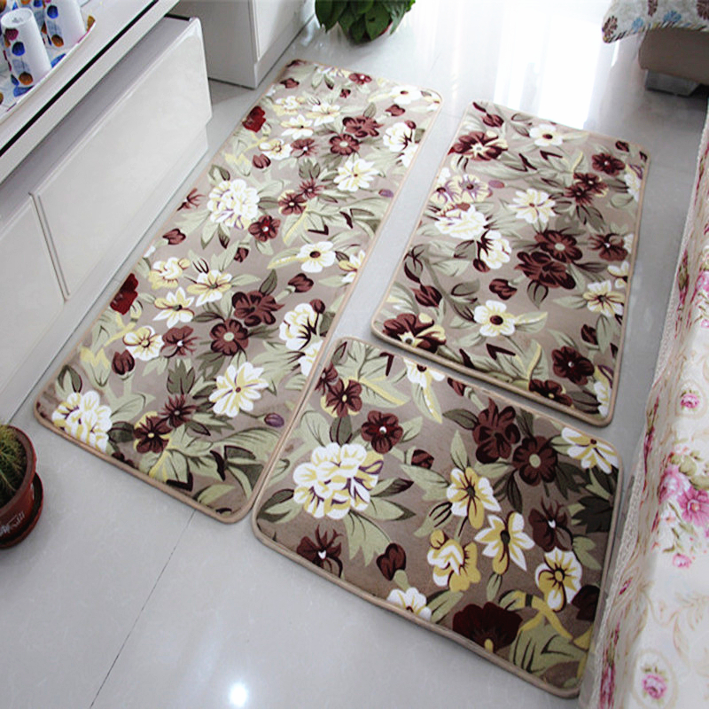 3 Pieces/Set Large Size Bath Mat For The Kitchen Living Rom, Cheap Large
