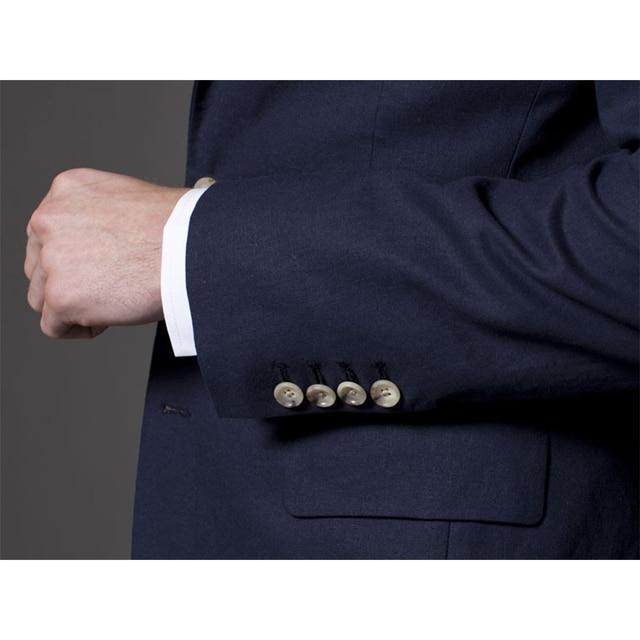 Traje para hombre esmoquin de boda personalizados 5