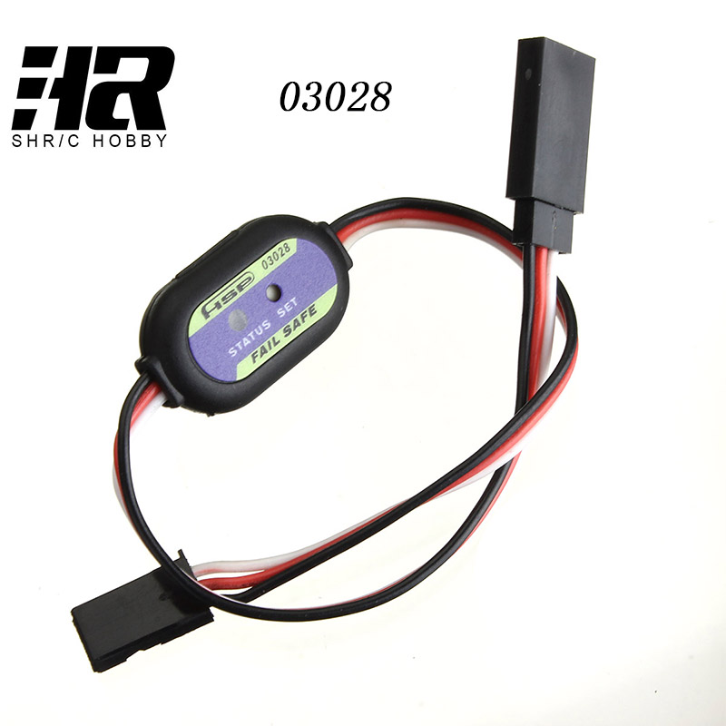 RC car HSP 03028 Fail Safe for Servo Receiver Parts RC Nitro Model Radio Remote Control oil car is out of control 82910 ricambi x hsp 1 16 282072 alum body post hold himoto 1 16 scale models upgrade parts rc remote control car accessories