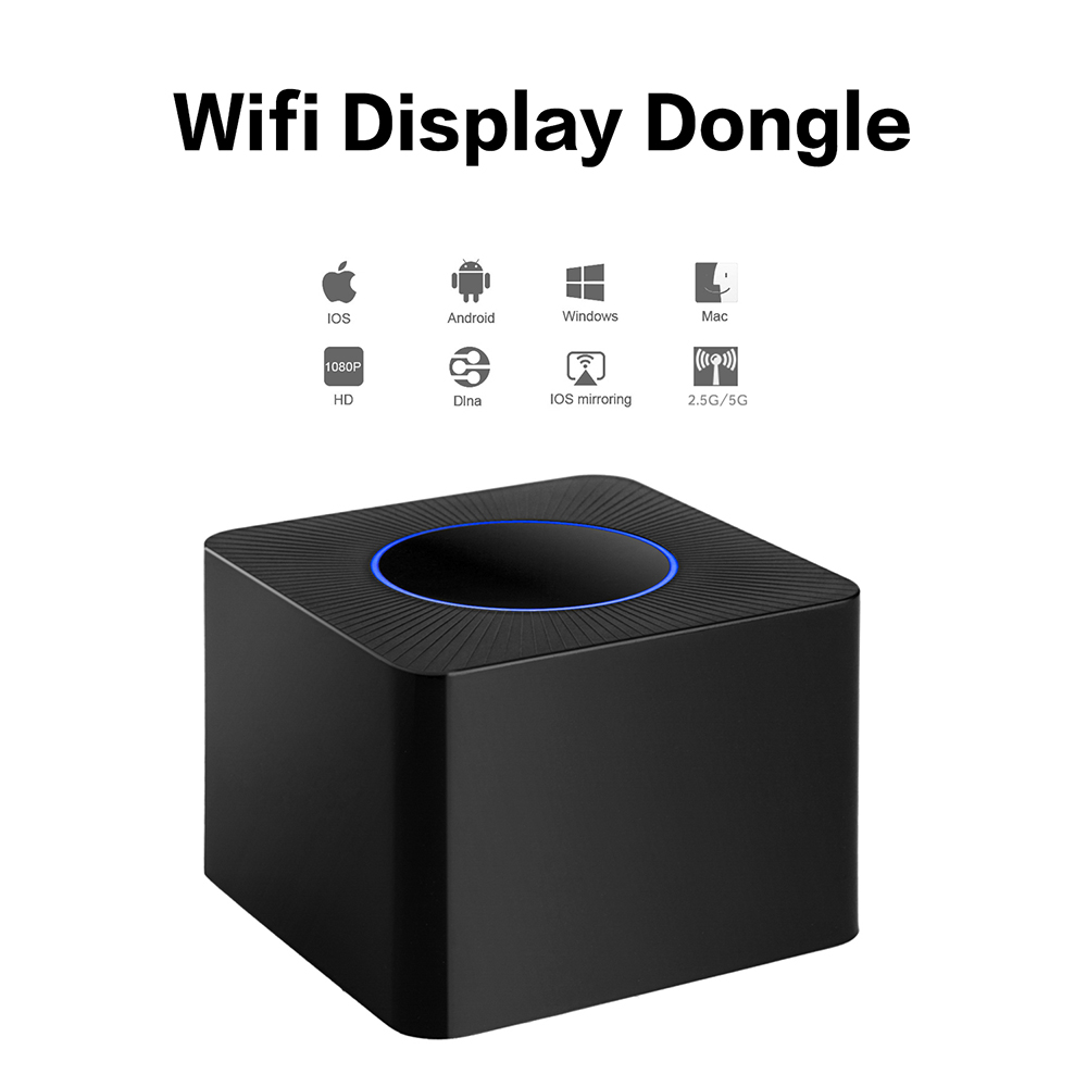 EStgoSZ 2018 Wireless WiFi Display Dongle Receiver 1080P HD TV Stick Airplay Media Streamer Adapter Media for Android TV stick