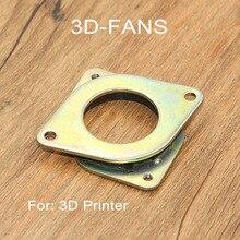 1 pc 3D Yazıcı Parçaları Nema 17 Step Motor titreşim damperi Amortisör Bazı Seçeneği için DIY Uzunluk 39mm Kalın 6mm