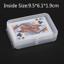 Free Shipping Rectangle Plastic Card Packaging Box Parts Storage Metal Tool Component Box(China)