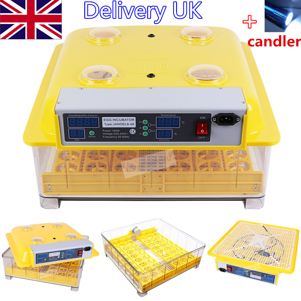 For Chickens Duck Egg Incubator turn tray New Incubator Automatic Incubator Poultry and poultry incubation equipment 48 eggs tray automatic incubator egg tray chickens ducks and other poultry