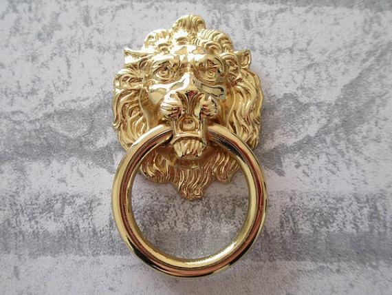 Aliexpress.com : Buy Lion Drawer Pull Knobs Dresser Drop Pulls ...