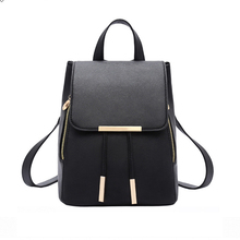New Hot Sale Korean Style Bag Women Backpack Female Big Pu Leather Backpacks fashion Bags Waterproof Purse