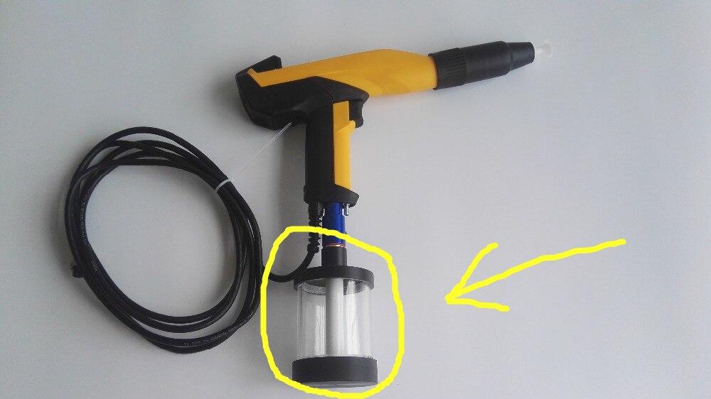 Portable Powder Coating Test Machine Test Gun Barrel Small Powder Tank SmallFluidization