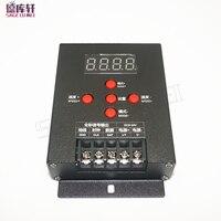 Nova 1 pcs WS2801 WS2811 LPD6803 T-500 2812b 2813 Full-color Inteligente Mini LED RGB Controlador Cor Sonho Mágico RGB Tira CONDUZIDA