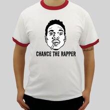 Chance el rapero raglan camiseta hombres American Rapper cantante Hip Hop  libro ácido Rap 10Day algodón o-cuello corto manga lar. 17c6008703b