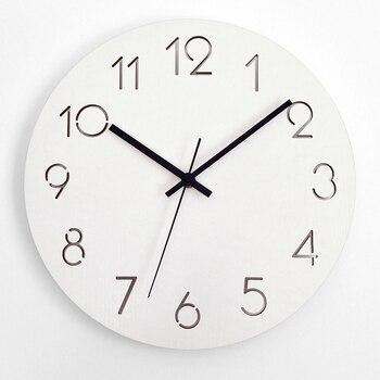 Moderno café reloj de pared decorativo grande adornos para casa reloj  cocina reloj mural decorativo ...
