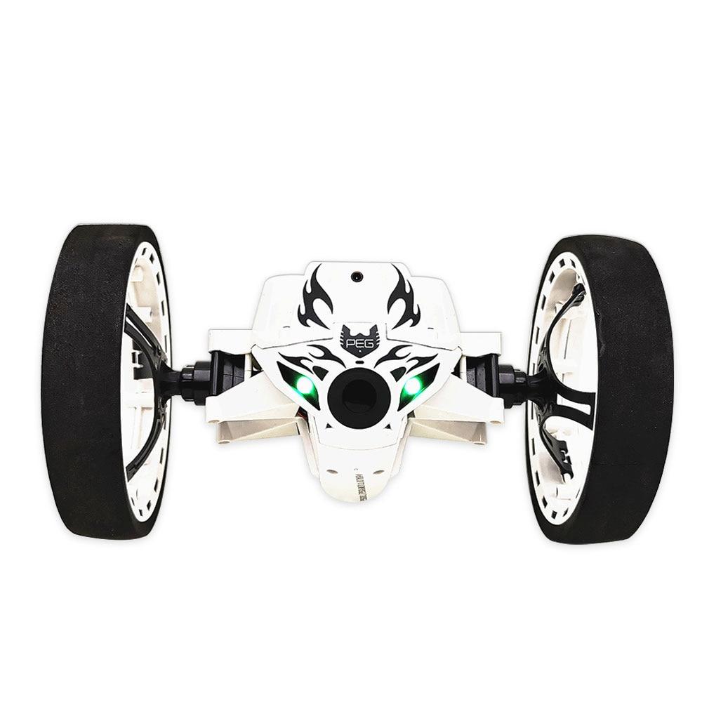 Прочный Rc Sumo автомобиль черный развлечения отскок автомобиль для подарка Прямая - Цвет: white