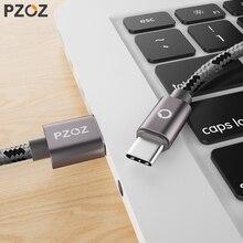PZOZ vente en gros 10 pièces/lot câble USB Type C 3.1 câble pour Huawei P40 Mate 20 30 Lite Xiaomi Redmi note 9s Pro Max téléphone données cordon