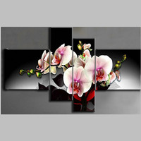 Needlework Diamond Embroidery Diy Diamond Mosaic Painting Rhinestones Cross Stitch Diamond Painting Dream Flower 4pcs Set