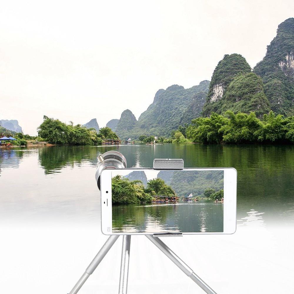 18x telescopio óptico Zoom Smartphone objetivo lente de la Cámara + trípode portátil para Samsung para teléfonos móviles Iphone - 3
