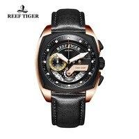 Риф Тигр/RT новые модные спортивные часы Для мужчин военные часы водонепроницаемый хронограф кварцевые часы Relógio masculino 2018 RGA3363