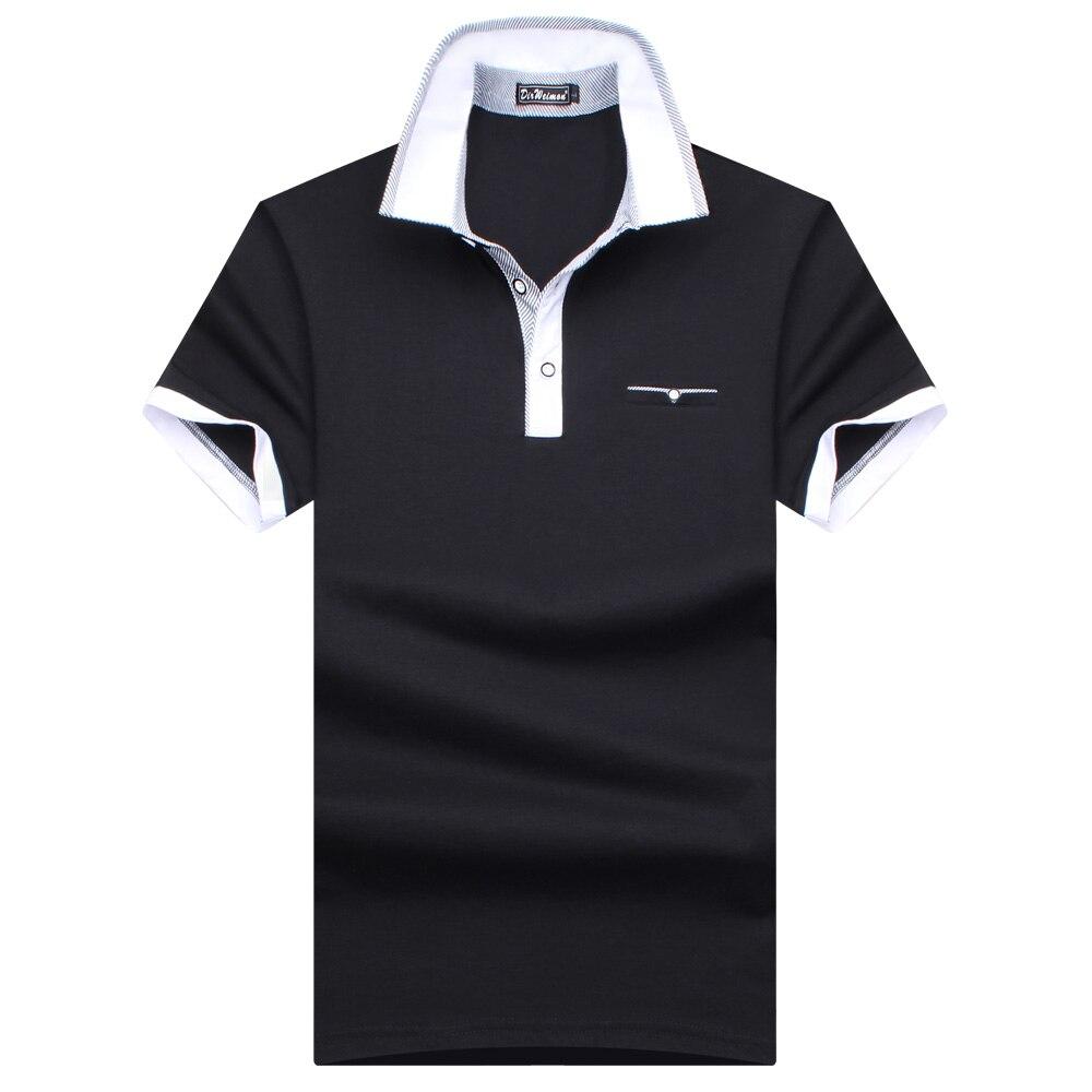 Plus Size S-10XL! 2019 New Brand Fashion 95% Mercerized Cotton Men Polo Shirt Summer Short Sleeve Polos Shirt Mens Solid  Shirt