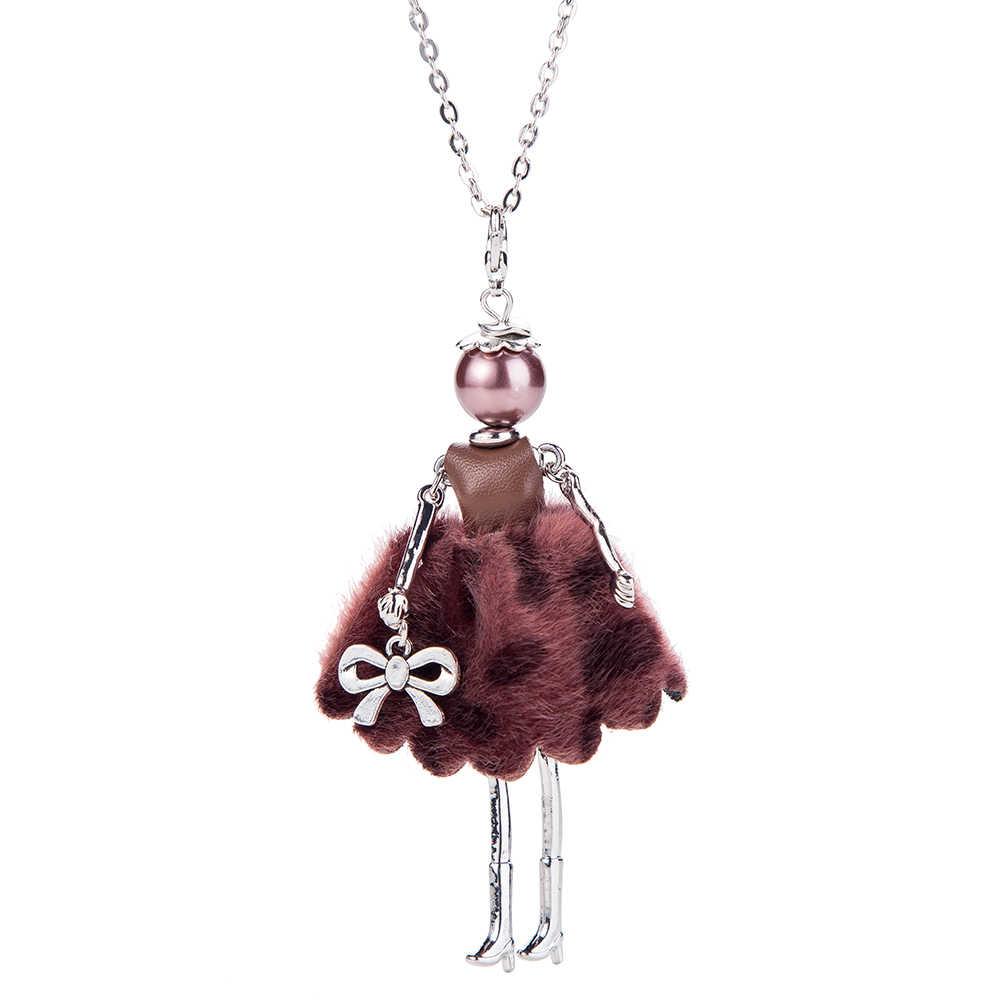 HOCOLE 2018 Новая мода с бантом, для куклы Цепочки и ожерелья Весна Подвески Кролик Кукла Цепочки и ожерелья & Подвески с Женские аксессуары, бижутерия, подарок для женщины, Лидер продаж