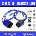 Novo! OBD2/OBDII ELM327 USB Para Audi VW OBD 2 Cabo de DIGITALIZAÇÃO Ferramenta de Diagnóstico de Digitalização da Interface