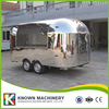 Multifunctional Full Stainless Steel KN 400 Street Mobile Food Trailer Truck Fast Food Van With Free