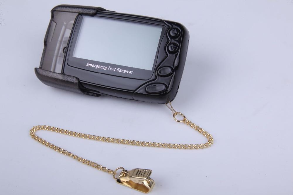 Téléavertisseur de message texte, récepteur de système de radiomessagerie sans fil, téléavertisseur portatif de restaurant/hôpital/café, téléavertisseur alphanumberique W09N