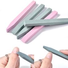 1pc Quartz Stone Nail Cuticle Remover Pusher Trimmer Pen Scrub Manicure Care Tool massage недорого