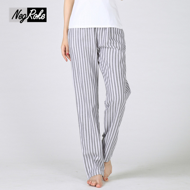 VVSs 100% pantalones de pijama de algodón de primavera Sexy mujer encantadora calidad del sueño bottoms pantalones talles para las mujeres casual pijama pijama broek