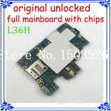 good main board 100% original full function motherboard for Sony Xperia Z L36H C6602 C6603 with software logic system board