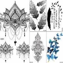 Oothandel Tribal Tattoos Flowers Gallerij Koop Goedkope Tribal
